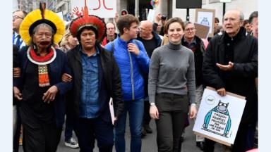 Trois arrestations administratives après la marche pour le climat