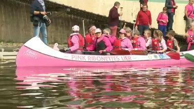 Les Pink Ribonettes sur le canal contre le cancer du sein