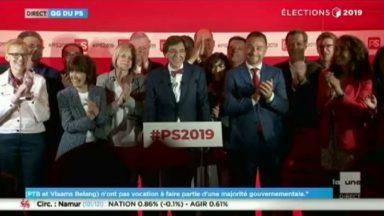 Elections 2019 : PS, MR, DéFi et cdH sont tous en recul