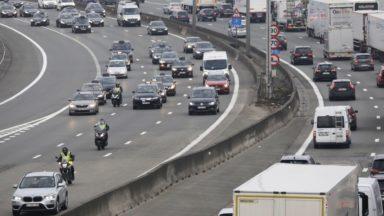 La Flandre réduit la vitesse sur le Ring de Bruxelles à 100 km/h