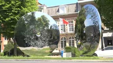 Un nouvelle sculpture de Nadim Karam orne l'avenue Franklin Roosevelt
