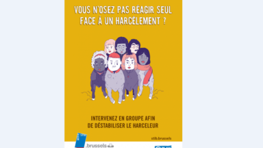 La Stib lance une campagne pour lutter contre le harcèlement sexiste dans l'espace public