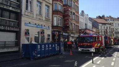 Molenbeek: un incident fait un mort et un blessé grave dans un immeuble en travaux, chaussée de Gand
