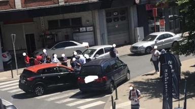 Schaerbeek: une piétonne renversée par un automobiliste chaussée de Helmet