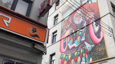 Bruegel inspire le street art bruxellois