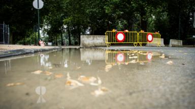 Orages : les parcs bruxellois fermés, le numéro 1722 activé