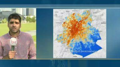 Bruxelles-Environnement cartographie les îlots de fraicheur dans la capitale