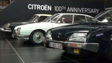 Citroën célèbre ses 100 ans à Autoworld