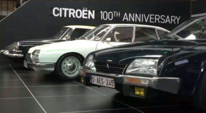 Exposition Centenaire Citroen - Autoworld