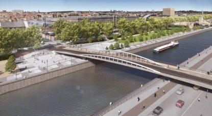 Nouveau pont Beliris - AVenue du Port