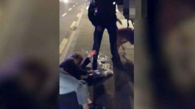Choquée par la violence de policiers, une jeune fille publie une vidéo sur les réseaux sociaux