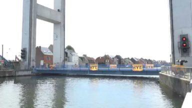 Le pont Humbeek-Sas à Grimbergen à nouveau opérationnel