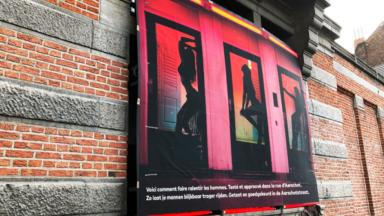 Schaerbeek : le visuel de prostituées fait polémique