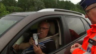 Week-end sans alcool au volant : la police organise une vaste opération de contrôle