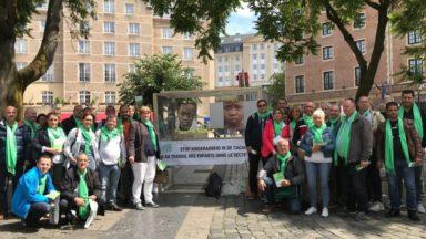 Bruxelles : Action pour sensibiliser à l'exploitation des enfants dans le secteur du cacao