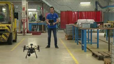 Digital Days : drones et réalité augmentée pour un millier de travailleurs d'Infrabel