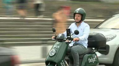 Les scooters partagés Felyx débarquent à Bruxelles