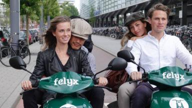 Les scooters électriques Felyx débarquent à Bruxelles