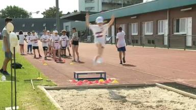 1.500 enfants se réunissent pour les Brussels Urban Youth Games à Molenbeek