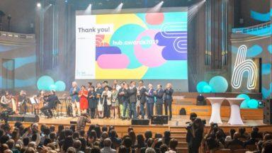 Six entreprises bruxelloises récompensées pour leur savoir-faire lors des hub.awards