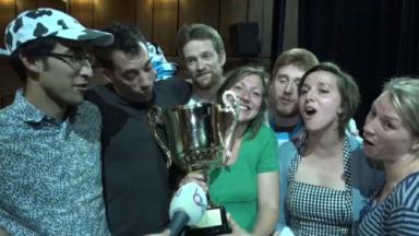 """Les """"Demi-Écrémés"""" remportent le championnat de la Ligue d'Impro"""
