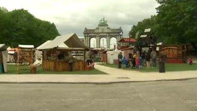 Le Marché médiéval au parc du Cinquantenaire est annulé ce week-end