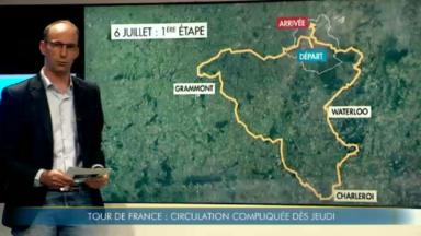 De gros embarras de circulation sont à prévoir à Bruxelles pour le Grand Départ du Tour de France 2019