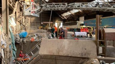 Un ouvrier tombe dans un silo rempli de déchets quai Léon Monnoyer