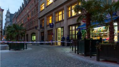 Une alerte à la bombe cette après-midi au commissariat central de Bruxelles