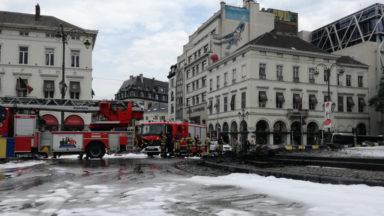Les pompiers sont repartis déçus des négociations avec Cécile Jodogne