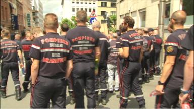 Les pompiers, reçus au PS, vont adresser un memorandum au formateur bruxellois