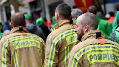 La manifestation des pompiers se poursuit ce jeudi à Bruxelles
