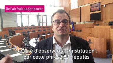 Rue de la Loi : de l'air frais au Parlement bruxellois