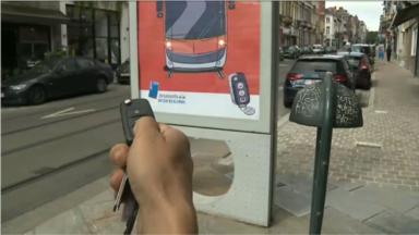La Stib lance sa campagne interactive pour promouvoir les transports en commun chez les automobilistes