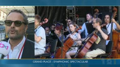 La première édition de Symphonic Spectacular sur la Grand-Place de Bruxelles