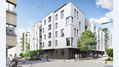 "Laeken : inauguration du quartier de ville ""Tivoli Greencity"""