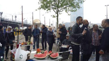 Les habitants et commerçants du quartier se préparent à un recours contre la station Toots Thielemans