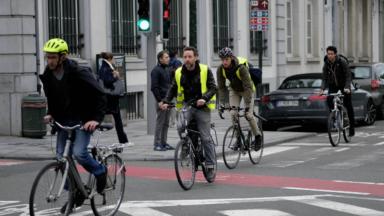 La Fondation Roi Baudouin donne un coup de pédale au vélo à Bruxelles