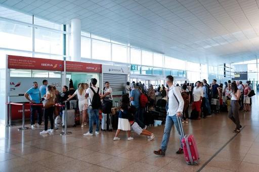 Une grève va paralyser l'aéroport de Barcelone