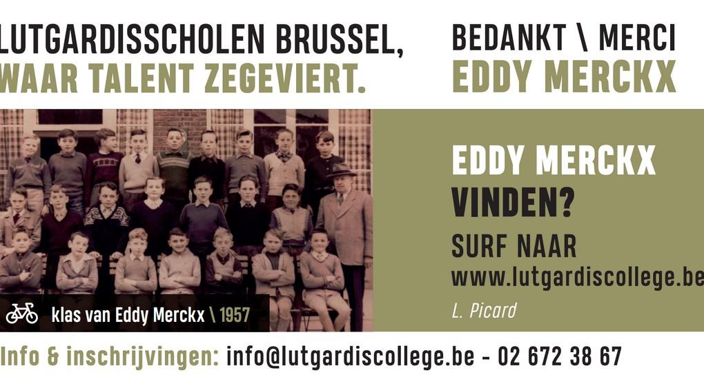 Affiche Photo 1957 Eddy Merckx