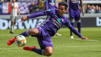 RSC Anderlecht : Andy Najar blessé et absent plusieurs mois