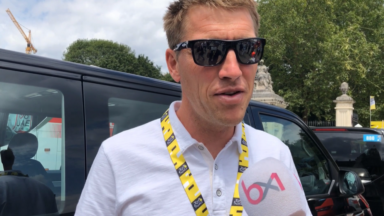 """Axel Merckx : """"Mon père est fatigué mais très ému"""""""