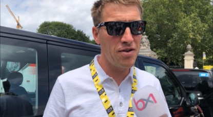 Axel Merckx - Interview Départ 2e étape Tour de France 2019