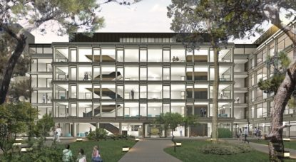 Bâtiment U - Futur centre administratif Uccle - Architecte BAEV