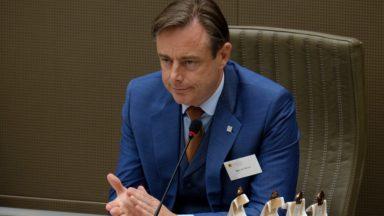 Bart De Wever ne souhaite pas démarrer de formation en Flandre pour le moment