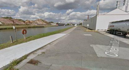 Berge du Canal - Drogenbos quai d'AA - Google Street View
