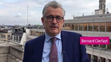 Rue de la Loi : 3 questions à Bernard Clerfayt