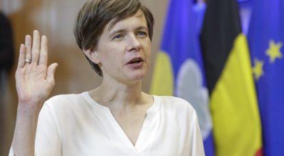 Cieltje Van Achter - N-VA Parlement bruxellois - Belga