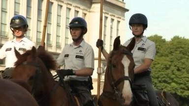 Fête nationale : dans les pas d'Héra, cavalière de l'escorte royale qui défilera avec le Roi