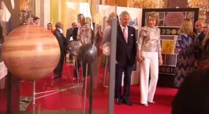 Exposition Palais Royal - Couple royal